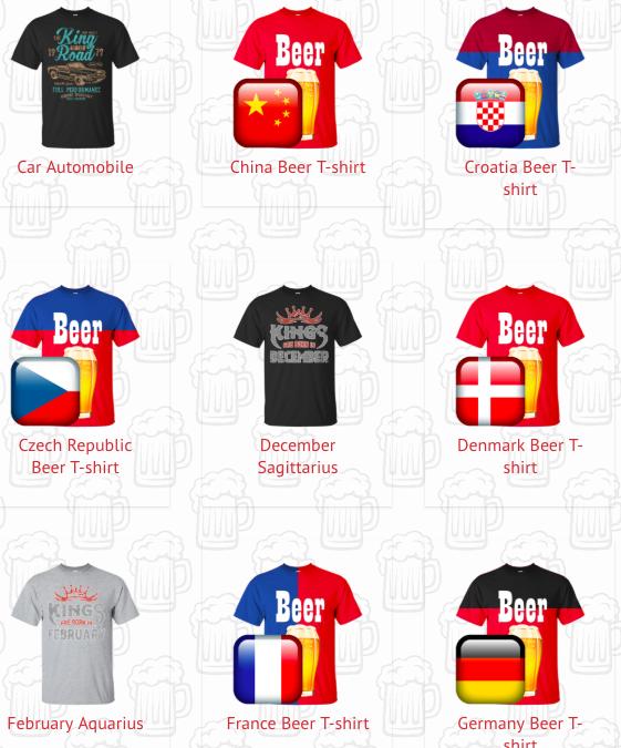 beer t-shirt ajándék